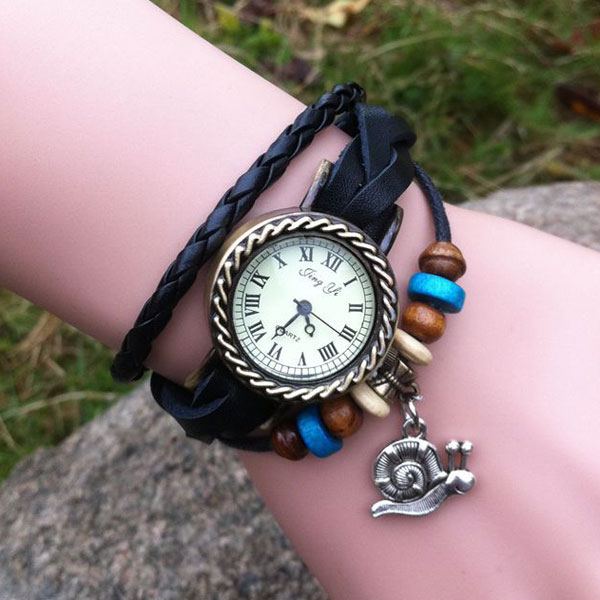 Retro Lovely  Snail Bracelet Watch