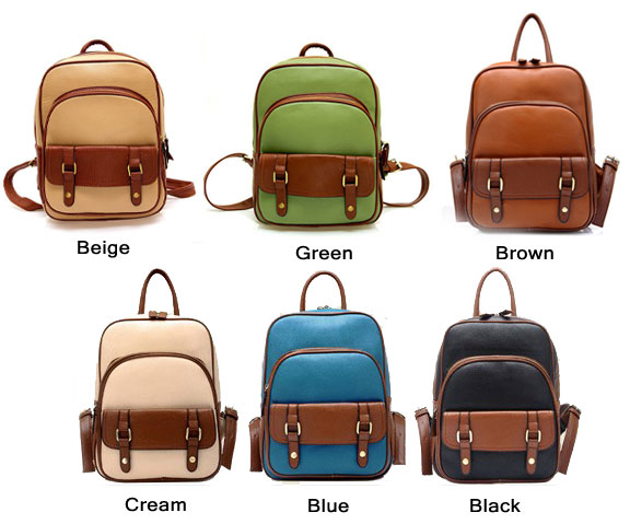 Retro School Fashion Backpacks