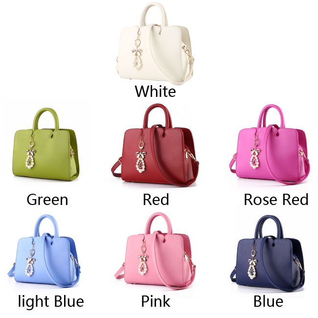 Fashion Women Leather Shoulder Bag Tote Ladies Messenger Bag Hard Purse Handbag