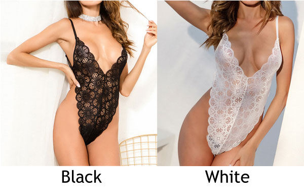 Sexy Temptation Conjoined Lace Flower Mesh Passion Sling Women Intimate Lingerie