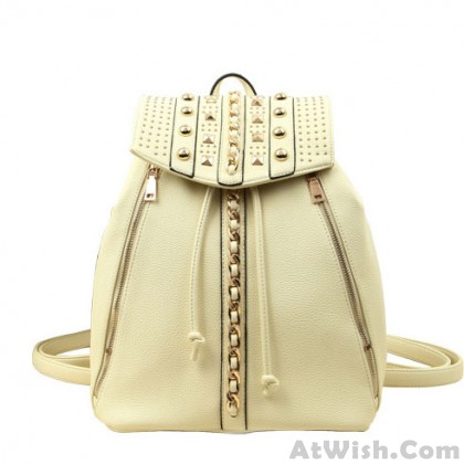 Unique Original Style Fashion Rivets Backpack