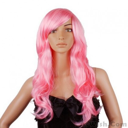 Cosplay Series Cartoon Long Curly Hair Wigs