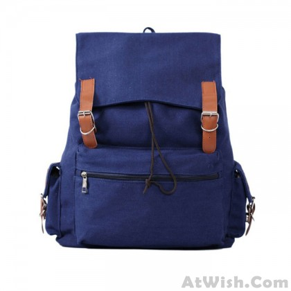 Explosion models Large Capacity Casual Canvas Backpack