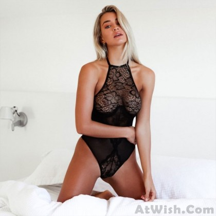 Sexy Lace Sling Conjoined Hollow Mesh Intimate Lingerie