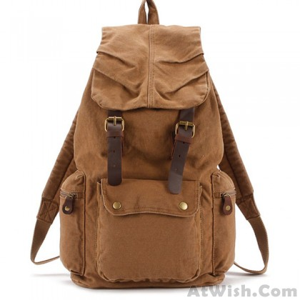Retro Canvas Student Bags Travel Bags Backpacks