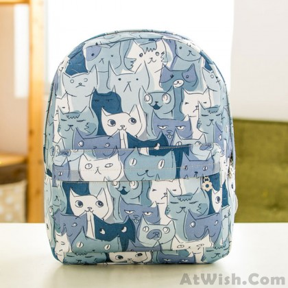 Lovely Cartoon Of Fashion Casual Outdoor Backpack