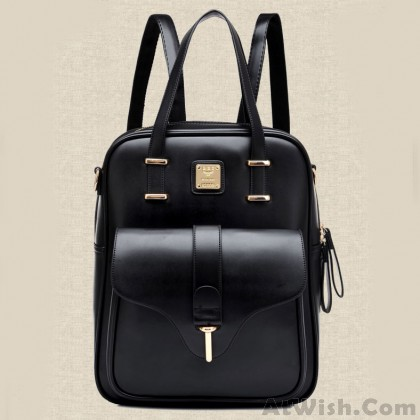 Fashion Simple Multifunction College Backpack