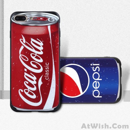 Funny Design Retro Pepsi Coca Cola Nokia Recorder Tape Camera Pill Case Iphone Cases