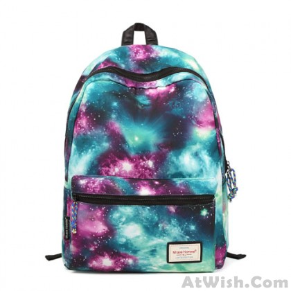 Shining Cool Galaxy Travelling College Backpacks