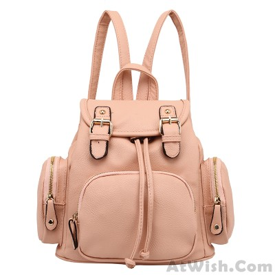 Sweet Pink Soft Mini Lovely Backpack