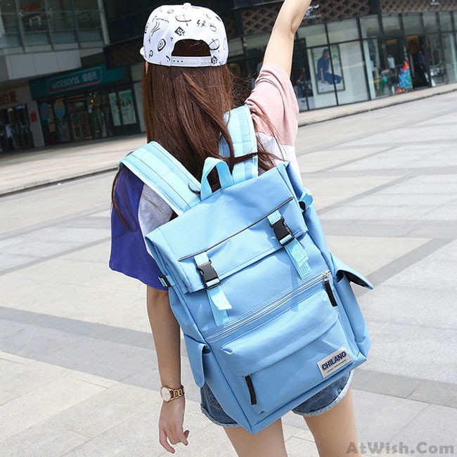 Leisure Large Bags Laptop School Bag Nylon Waterproof Outdoor Backpack 0e24e64129840
