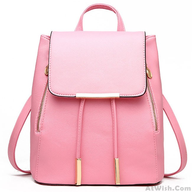 8bb4b80432 Sweet Funky Lady Solid Simple Square PU Drawstring Hasp Satchel Leisure  Backpacks · Zoom. prev