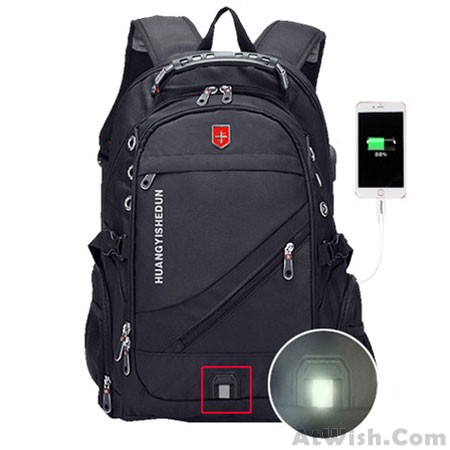 b546ab22c42d Strong Large Multi-functional Camping Bag Waterproof Black Outdoor Nylon  Oxford Travel Backpack