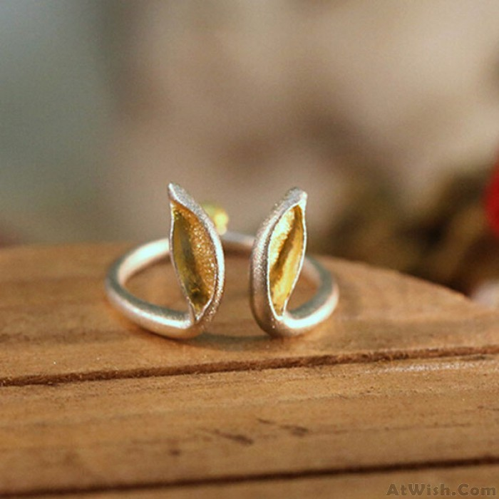 Creative Unique Handmade Rabbit Ears Ring/Jewelry Gift