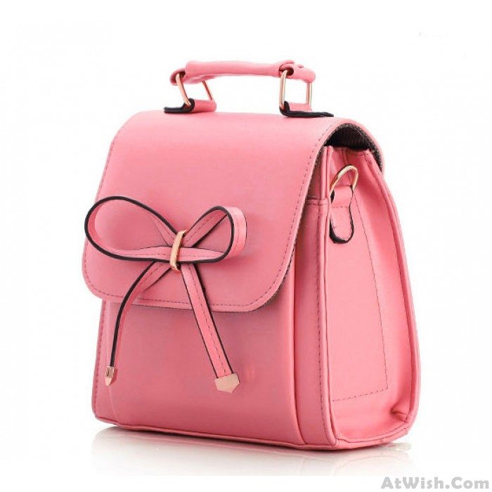 New Elegant Bowknot Candy Colored Multi Handbag&Shoulder Bag