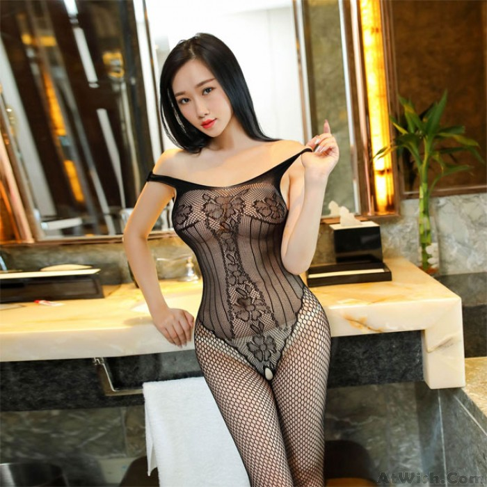 Sexy Vest Siamese Fishnet Mesh Conjoined Stockings Underwear Hollow Intimate Lingerie