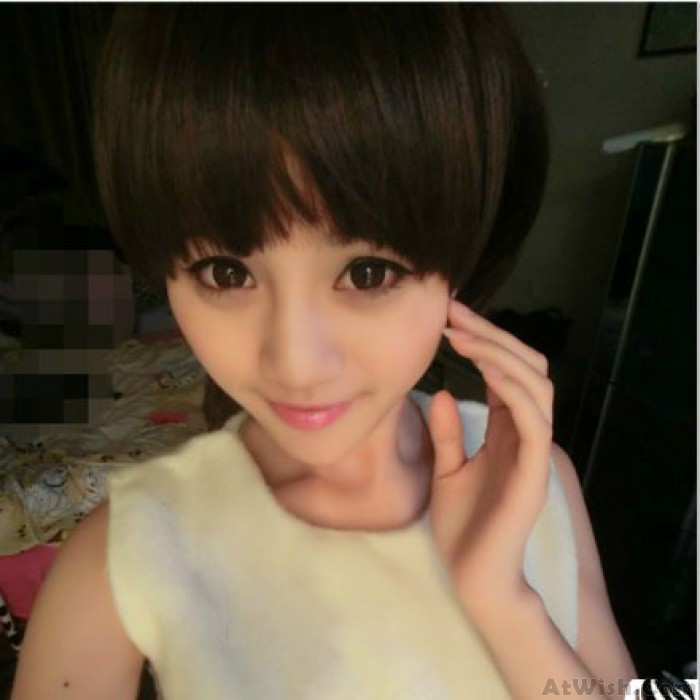 Lovely Fresh Bobo Fluffy Style Short Wigs
