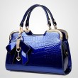 Fashion Bow Stone Pattern Handbag Shoulder Bag