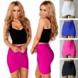 Summer Sexy High-end Cross Straps Tight Skirts