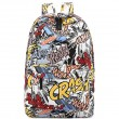 Harajuku Style Graffiti Cartoon Backpack