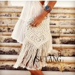Elegant Fresh Bohemian Weave Tassel Hollow Shoulder Bag Messenger Bag