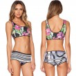 Geological Texture Print Bikini Unique good Swimsuit Bathing Suits Swimwear