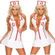 Fashion Sexy Cosplay Deep-vee Nurse Uniform Women's Lingerie