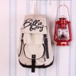 Classic Fashion Plaid Canvas Backpack