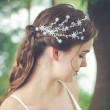 Sweet Handmade Bridesmaid Star Branch Rhinestone Hair Clip Wedding Bridal Hair Accessories
