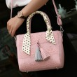 New Fashion Lace Scarf Fringed Handbag Shoulder Bag Messenger Bag