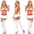 Sexy Angel Female Nurse Costume Uniform Dress Temptation Nurse Cosplay Women's Lingerie