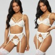 Sexy Lace T-pants Sling Bra Set Underwear Pants Women Intimate Lingerie