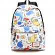 Cute Cat School Bag Kitten Tortoise Animal Dolphin Cartoon Waterproof Polyester Student Backpack