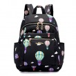 Cartoon Hot Air Balloon Oxford Nylon School Bag Student Backpack