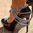 Punk Style Multi-layer Tassel Anklet Alloy Footwear Street Feet Accessory Anklet