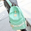 Fresh Floral Print Canvas Backpacks Schoolbags