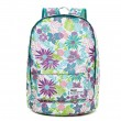 Fresh Flower Pattern Waterproof Backpack