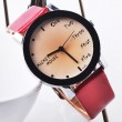 Fashion Lovely Simple Black Border Watch