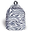 Harajuku Street Casual Zebra Pattern Waterproof School Bag Travel Backpack