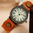 Retro Punk Style Retro Leather Watch