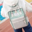 Fresh Multi-function Campus Shoulder Bag High School Students Canvas Backpack