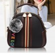Cute Soft PU Stripe Women Bag Small Shoulder Bag