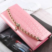 Elegant Chain Shell Clutch Bag& Wallet