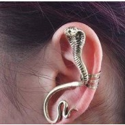 Retro Indian Twining Snake Shaped Earring Clips