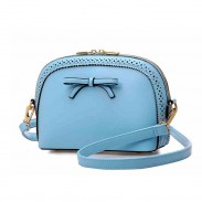 Summer Retro Bow Hollow Mini Shell Shoulder Bags