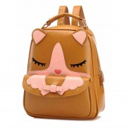 New Lovely Cartoon Summer Girl School Backpack