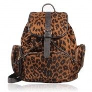 Retro good Leopard Prints Backpack&Schoolbag
