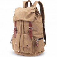 New Laptop Rucksack Travel School Bag Hiking Bags Canvas Backpack