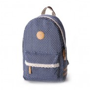 Fresh Sweet Lace Dot Print Backpack