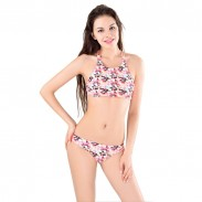 Honey bees Printing  Swimsuit Swimwear Bikini Set Bathingsuit
